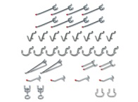 36-Piece Peg Hook Kit